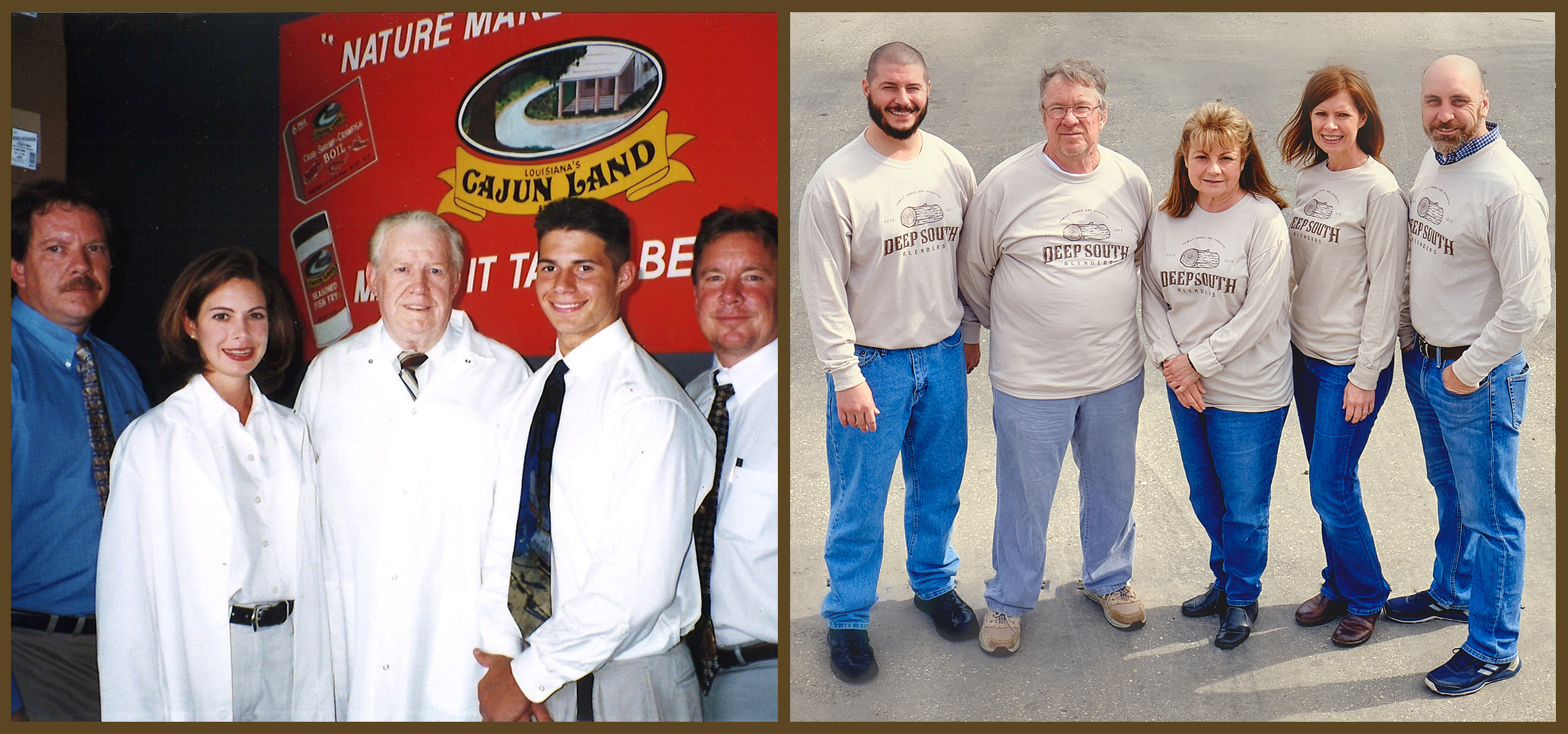 About Deep South Blenders and it's family over the years