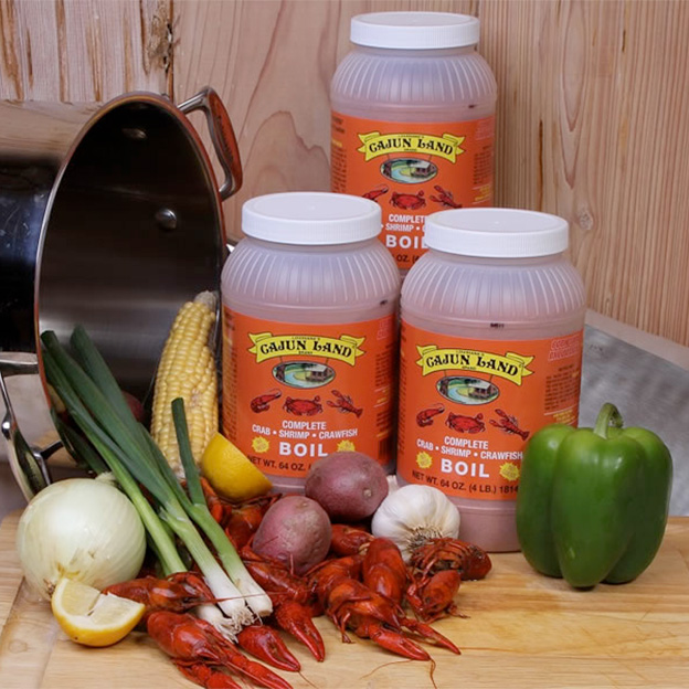Cajun Land Brand Seasonings